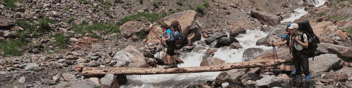 Как организовать переправу через реку - фото
