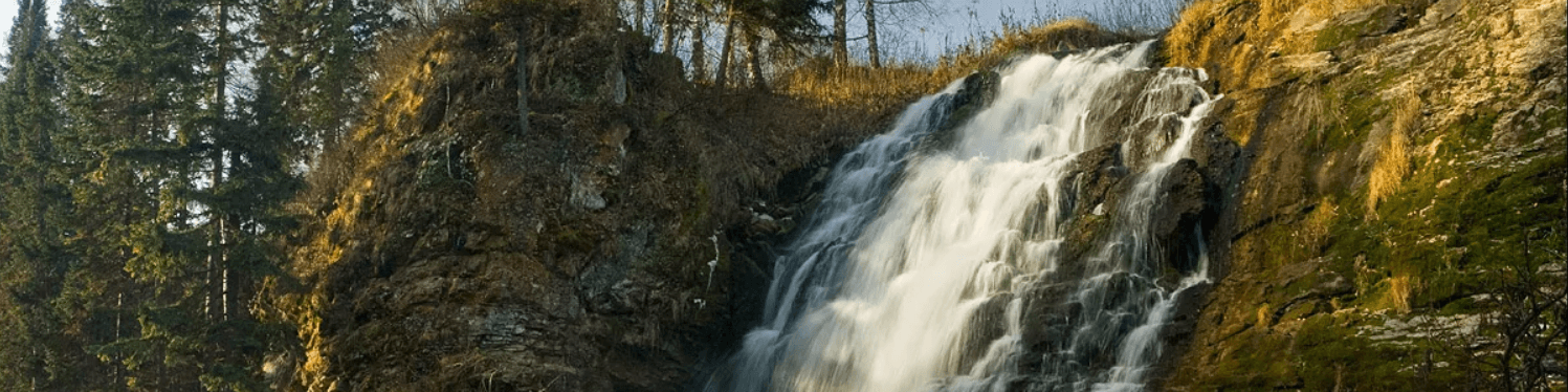 Пещерский водопад - фото