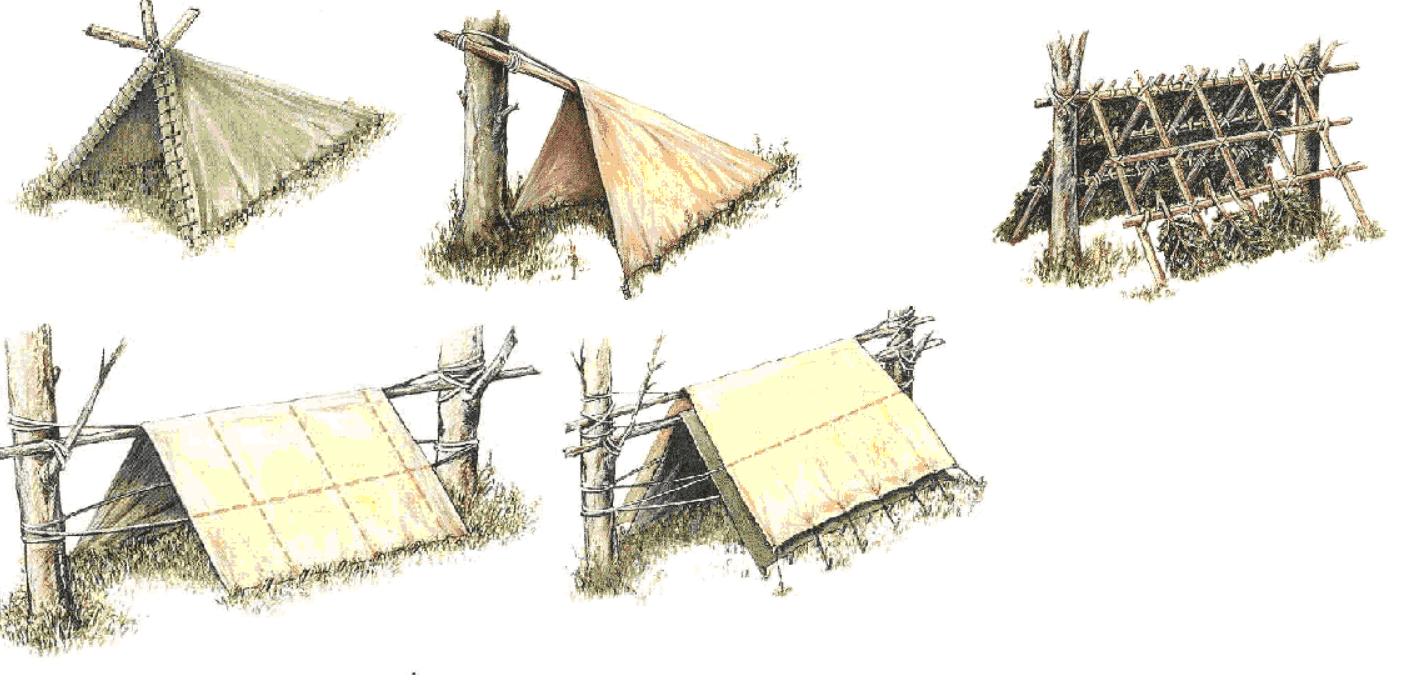 Оборудование временного укрытия - фото 1